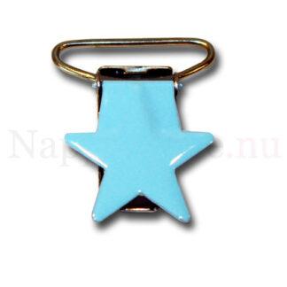 Clips stjärna babyblå