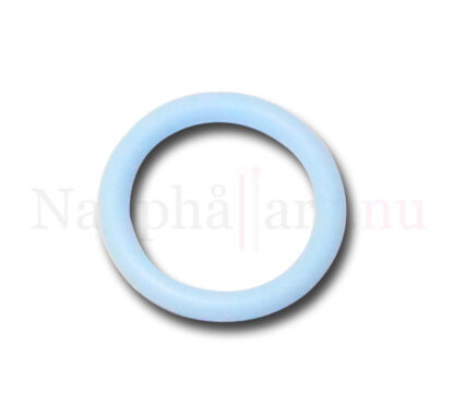 Nappring, o-ring babyblå