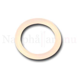 Nappring, o-ring transparent/ofärgad