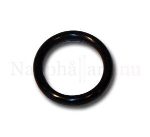 Nappring, o-ring svart