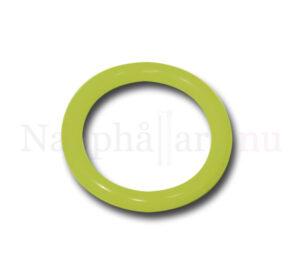 Nappring, o-ring limegrön