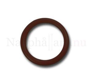 Nappring, brun o-ring till napphållare/nappband.
