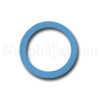 Nappring, himmelsblå o-ring till napphållare/nappband.