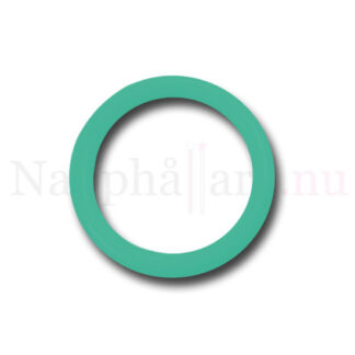 Nappring, turkos o-ring till napphållare/nappband.