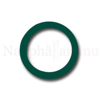 Nappring, mörkgrön o-ring